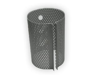 perforated steel motor guard